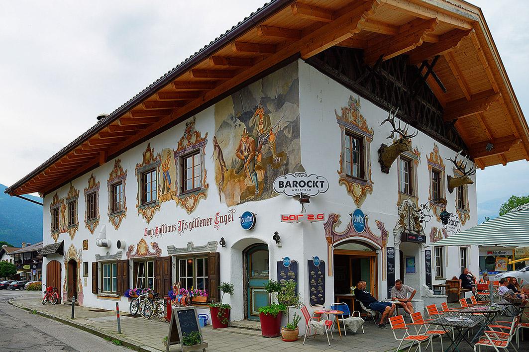 Гармиш-Партенкирхен Garmisch-Partenkirchen