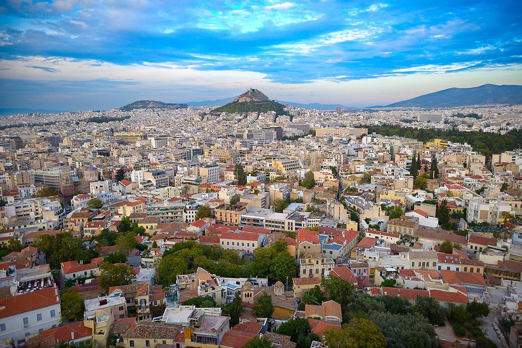 Афины фото города погода