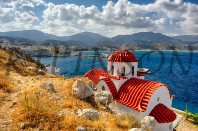 Храм на острове Карпатос, Temple on the island of Karpathos