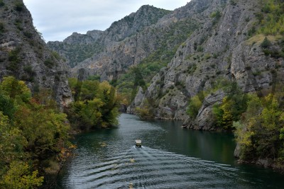 Каньон Матка, Matka Canyon