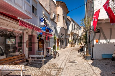 Alacati village Turkish