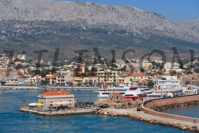 the island of Chios